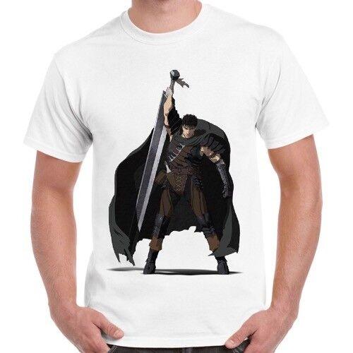 Guts Berserk Final Fantasy Anime Cool Gift Retro T Shirt 510