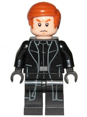 Lego General Hux Minifigure from set 75177 Star Wars NEW sw854