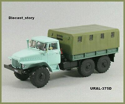 1:43 URAL 43202-31 Militar Pritsche 6x6 russian flatbed truck USSR LKW UdSSR