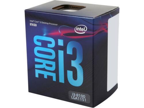 Intel Core i3-8100 Coffee Lake Quad-Core 3.6 GHz LGA 1151 Desktop Processor