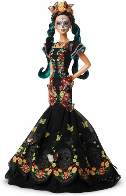 Barbie Dia De Los Muertos (Day of The Dead) Doll New In Box Gorgeous! (1N18)