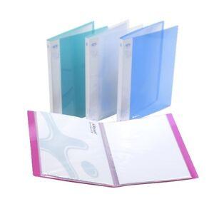 x 3 Rexel Ice polypropylène 40 poche A4 Livre D'affichage Renfort 2102040