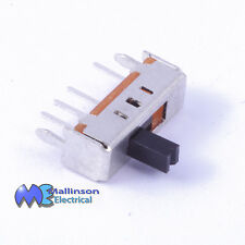 3 position Single pole slide switch SP3T 12vdc 100mA