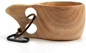 Weylon in legno-Tazza da viaggio colore caffè/tazza/bicchiere da campeggio 200ml