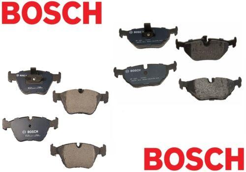 For BMW E39 528i 525i Set of Front /& Rear Disc Brake Pads Bosch QuietCast