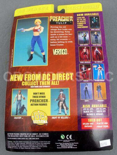 "Tulip from Preacher Fully Poseable 6/"" Action Figure Vertigo DC Direct 2000 NIP"