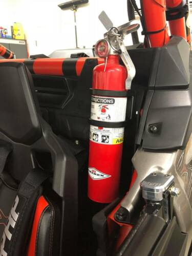Drivers Side Can Am Maverick X3 Fire extinguisher mount