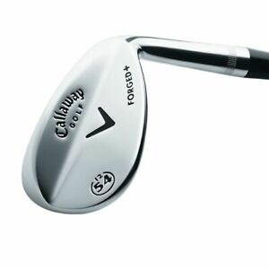 LEFT-HANDED-CALLAWAY-FORGED-CHROME-APPROACH-WEDGE-52-10-BOUNCE-STEEL-WEDGE