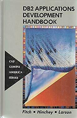 DB2 Applications Development Handbook by Fitch, Carl -ExLibrary