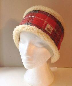 Image is loading Harris-Tweed-Head-Warmer-Headband-Ear-Warmer-Fleece- 10f73ae40c6