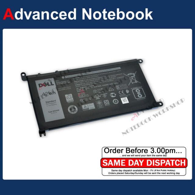 Genuine Battery for Dell Inspiron 13-5368 5378 7368 7378 15-5565 5567 5568 WDX0R