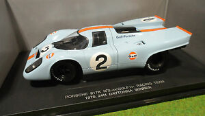 PORSCHE-917-K-2-WINNER-DAYTONA-1970-GULF-1-18-UNIVERSAL-HOBBIES-voiture