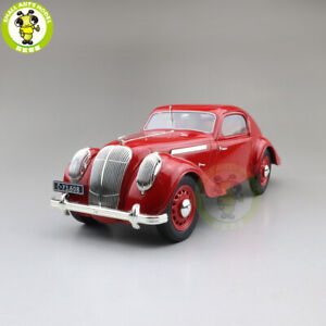 1-18-Skoda-Popular-Monte-Carlo-Diecast-MODEL-CAR-Toys-Boys-Girls-Gifts-Red
