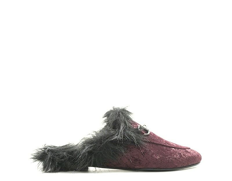 Scarpe DorossoHYD Donna Sabot  BorDEAUX Tessuto 0314BO  presentando tutte le ultime tendenze della moda