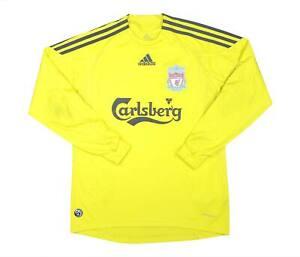Liverpool 2009-10 ORIGINALE GK Shirt (eccellente) L Ragazzi Calcio Jersey