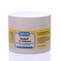 Davis Relief Fly Ointment Insect Repellent For Pets Cats Dogs 2 Oz. 56.5g