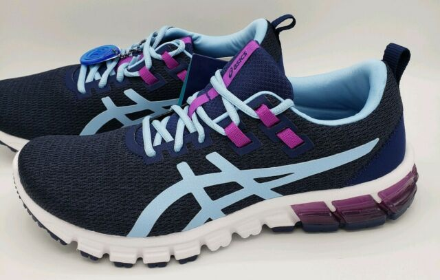Asics Gel Quantum 90 Blue Heritage Purple Running Shoes 1022a115-401 Women's 9.5