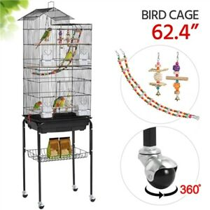 """Large Flight Cockatiel Conure Parakeet Bird Cage (39"""" Bird Cage Without Stand)"""