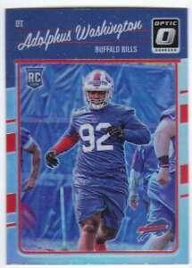 2016-Donruss-Optic-Football-Rookies-RC-Holo-Refr-102-Adolphus-Washington-Bills