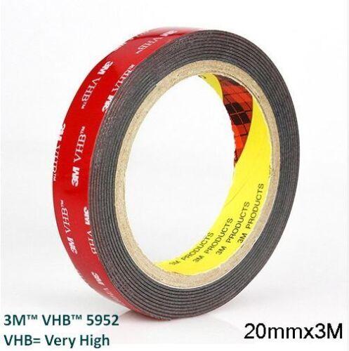 Genuine 3M™ VHB™ 5952 Original Double Sided Acrylic Foam Adhesive Mounting Tape