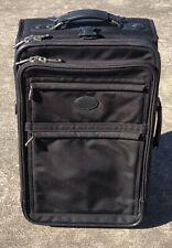 Kirkland Signature Softside 22 2 Wheel Carry-On, Black