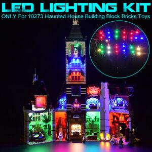 USB-LED-Light-Lighting-Kit-For-LEGO-10273-Haunted-House-Building-Block-Bricks