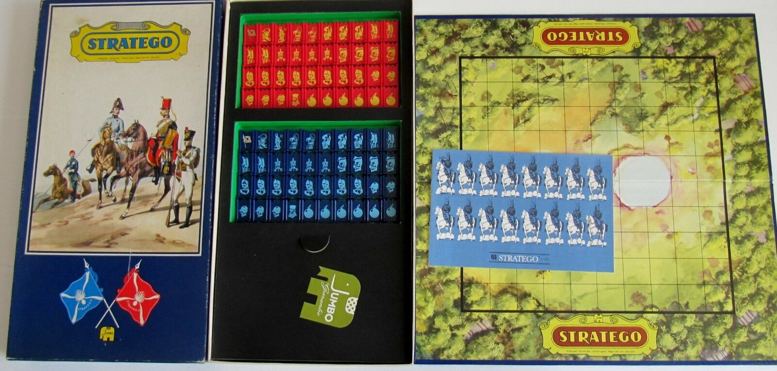 RARE TOP CONDITION  Stratego 495  the Large Luxury Edition  Complete