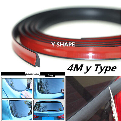 4Meter y Type Universal Car Window Sealed Weatherstrip Trim Moulding Seal Strips