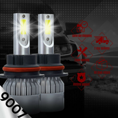 IRONWALLS 2side 1700W 255000LM 9007 HB5 LED Headlight Kits Hi//Lo Beam Bulb 6000K