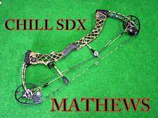 Mathews ChILL SDX  COMPOUND BOW **Ship Worldwide