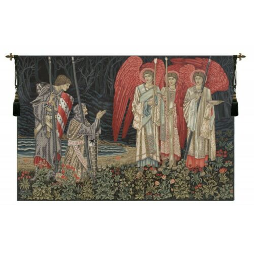 Le Saint-Graal II la vision panneau gauche européenne Tapestry Wall Hanging