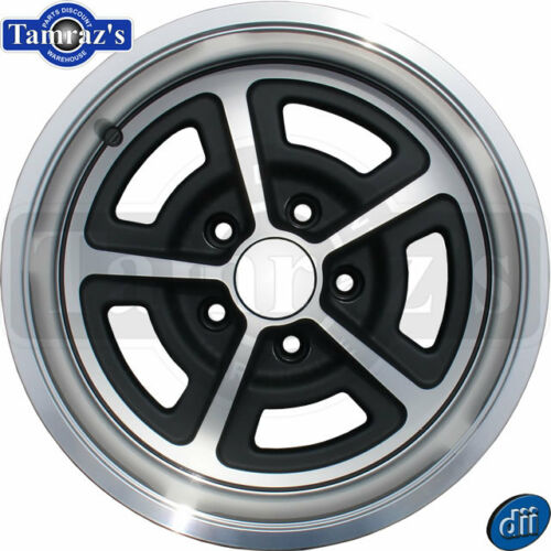 Ford Mustang MAGNUM Aluminum Alloy Wheel w// cap 5 x 4.5 15 x 7 EACH
