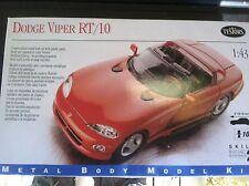 1998 1:43 Dodge Viper RT/10 Testors Metal Body Model Kit