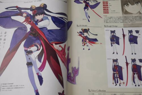 JAPAN Valkyrie Connect Official Visual Collection Art Book