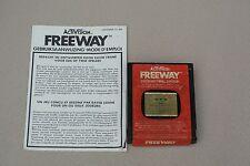 "Atari 2600 Vintage video game ""Freeway"" 1981 with intruction manual"