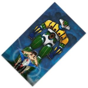 MAXI PLAID PILE MORBIDO CALDO JEEG ROBOT D'ACCIAIO ANNI 80 100 X 180