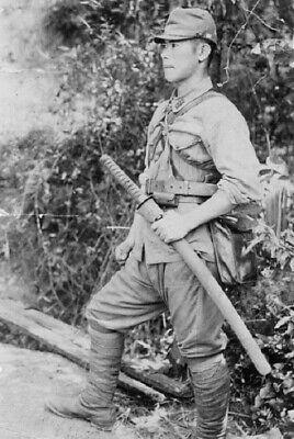 War Memorabilia Antique Soldier Military kamikadze WW2 Photo 4x6 inch H