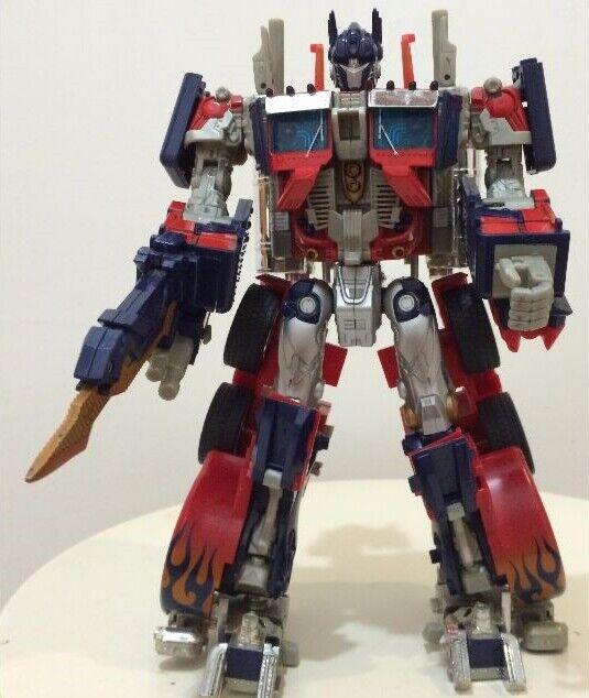 Transformers Film Premium Optimus Prime Komplett Leiter Figur