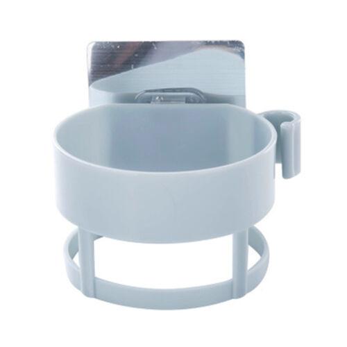 DIY Bathroom Shelves Wall Type Toilet Blower Hanger Sturdy Plastic Blower Rack