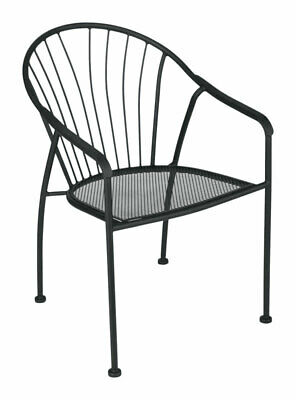 Fine Living Accents Black Steel Winston Chair 843518069028 Ebay Ibusinesslaw Wood Chair Design Ideas Ibusinesslaworg