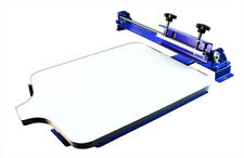 Desktop One Color Two Directions T Shirt Screen Printing Machine Screen Press