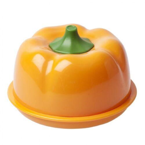 Joie MSC Fresh Pod Food Storage Pots Pepper Orange Fridge Box Kitchen Home Gift