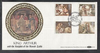 """Sonnig Gb Tolle Fdc """"könig Arthurs"""" 1985 Schöne Illustrationen Stempel Zur Auswahl Briefmarken"""