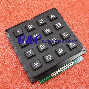 4 x 4 Matrix Array 4*4 16 Keys Switch Keypad Keyboard Module for arduino US G3