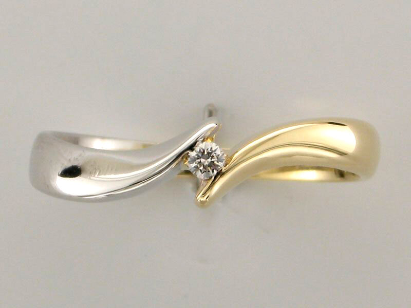 0.25ct Solitaire 14k Yellow White gold Royal Engagement Christmas Ladies Ring
