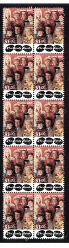 THE BRADY BUNCH STRIP OF 10 MINT TV VIGNETTE STAMPS 5