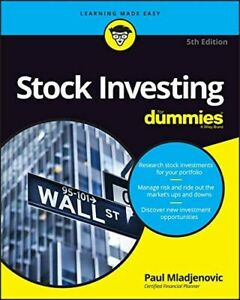 Stock Investing For Dummies P D F Digital Copy Get It Fast 9781119239284 Ebay