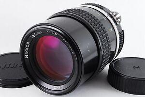 [Excellent-] Nikon Ai Nikkor 135mm f/3.5 MF Lens for SLR Camera From Japan(A826)