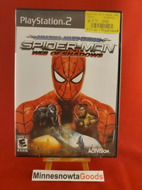 Spider-Man: Web of Shadows - Amazing Allies Edition (Sony PS2, 2008) ~ CIB!!
