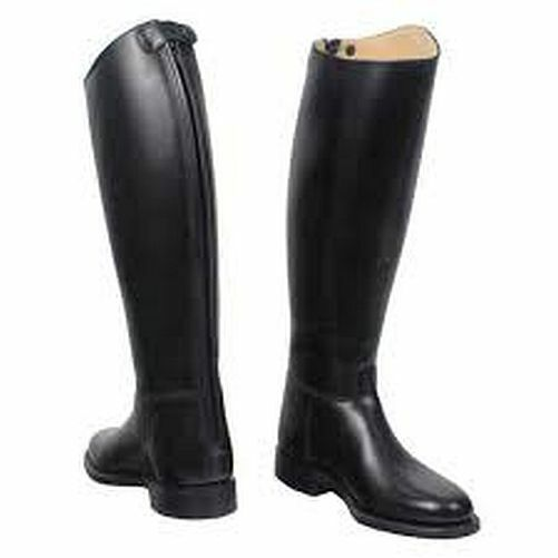 Traditional Regent Grafton Zip Long Leather Show Dressage Riding Boots Size 4